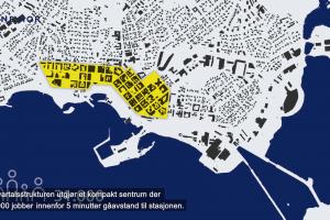 Intercity trasévalg gjennom Hamar